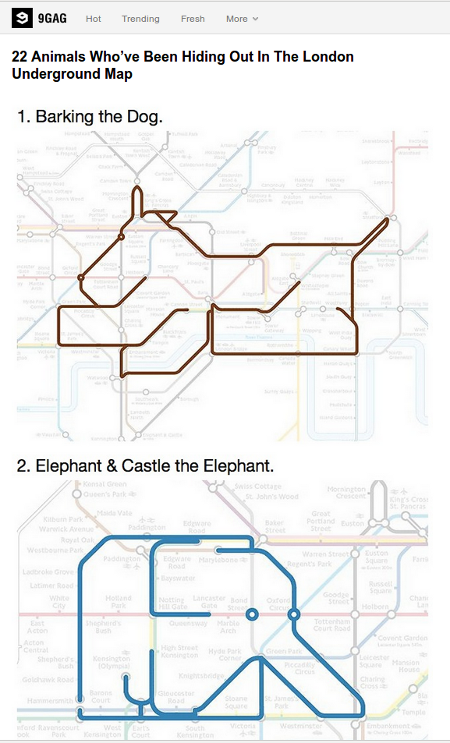 bechos agachados no metro de Londres